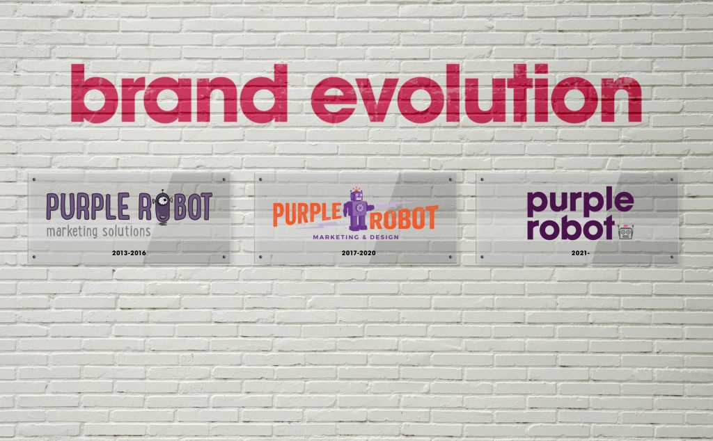 The Evolution of the Purple Robot Brand